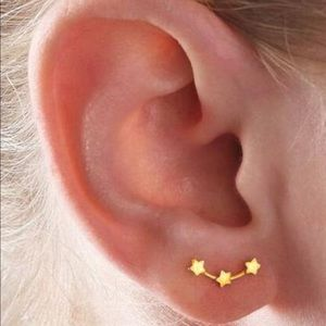 Jewelry - Star color earrings studs simple dainty jewelry